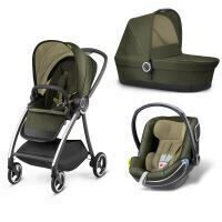 Carucior modular gb Maris 3 in 1 Lizard Khaki